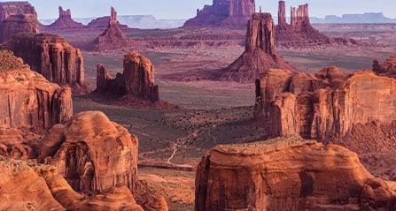 Voyagez avec les indiens d'Amérique