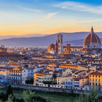 De Naples à Florence : <b>Les merveilles de l'Italie</b>