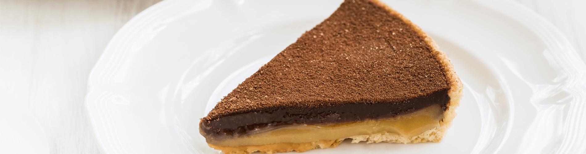 tarte choclat et dulce